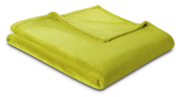 Decke 100% Polyester grün