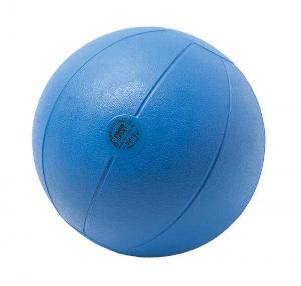 Medizinball aus Ruton 800g / Ø 21cm / blau