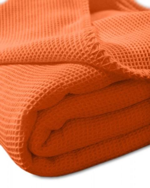 Waffel-Pique-Decke