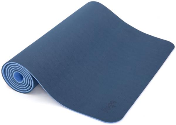 Yogamatte Lotus Pro blau