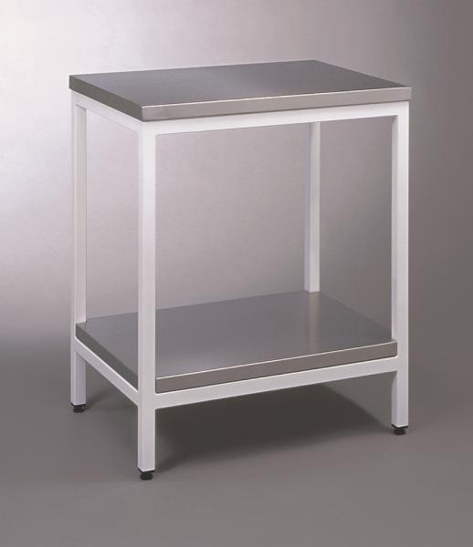 Standtisch Groß mit V2A-Platte