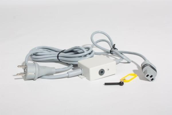 Netzkabel für Magnetic Motor mit Magnetsperrbox und Magnetschlüssel