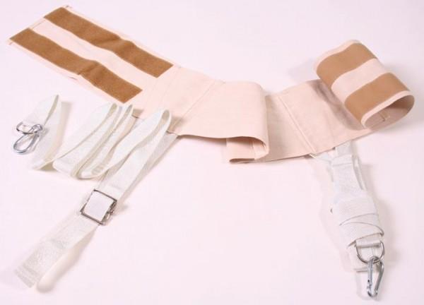 Kombin. Brust-Hüftmanschette Textil