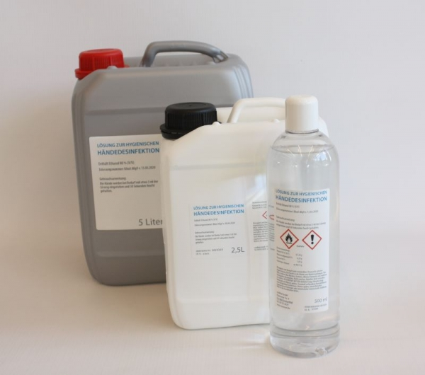 AKTIONSSET 5+1 Händedesinfektionsmittel 500ml