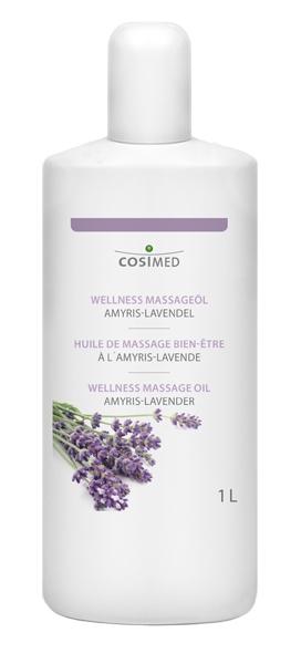 CosiMed Wellness Massageöl Amyris-Lavendel 1 Liter