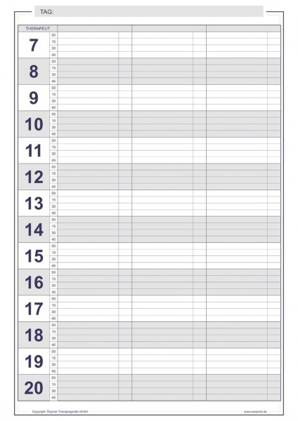 Terminbuch DIN A4