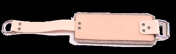 Fussmanschette Leder für Oberschenkel