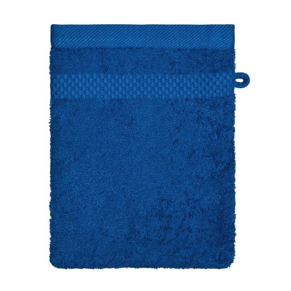 Waschhandschuh blau